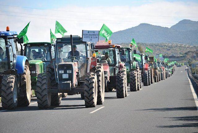 Más de un millar de agricultores de Cuenca asistirán a la manifestación de este martes en Toledo