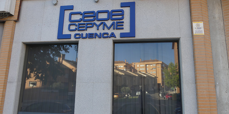 CEOE-Cepyme Cuenca suspende la atención al personal asociado y lo hará por teléfono y correo electrónico