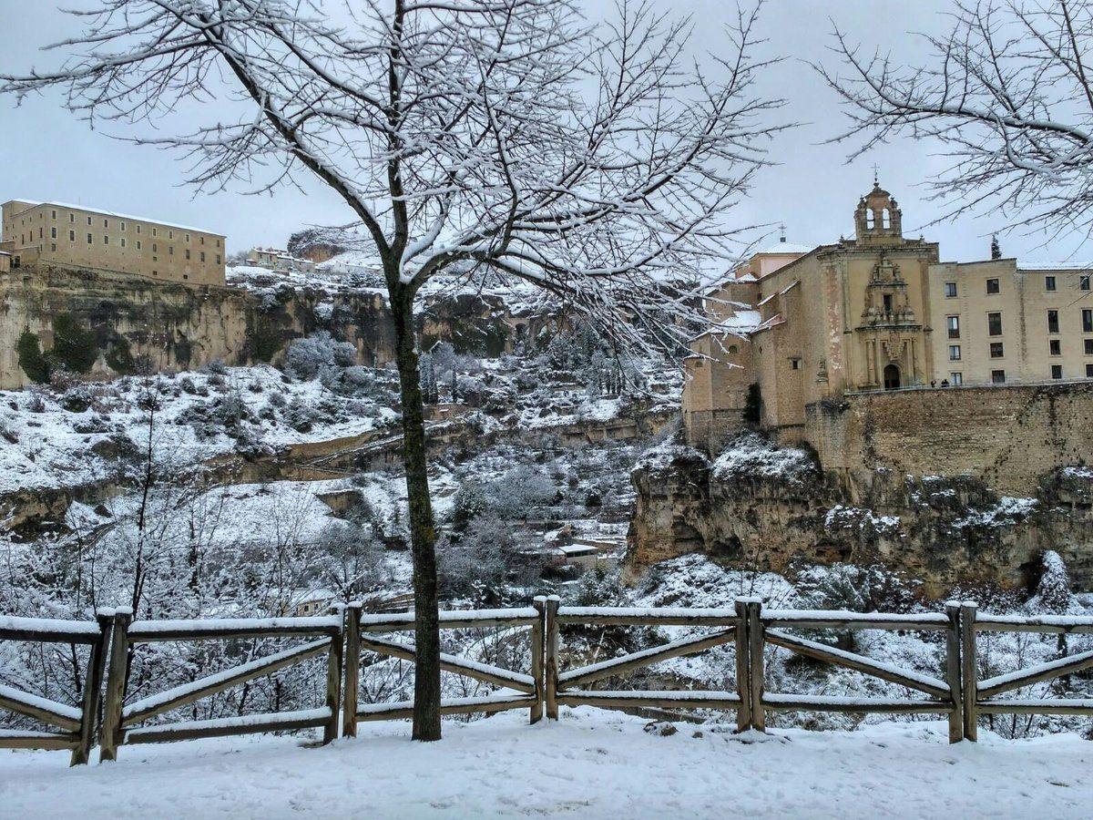 El Ayuntamiento de Cuenca activa el Pemuvi en fase de prealerta ante la predicción de posibles nevadas