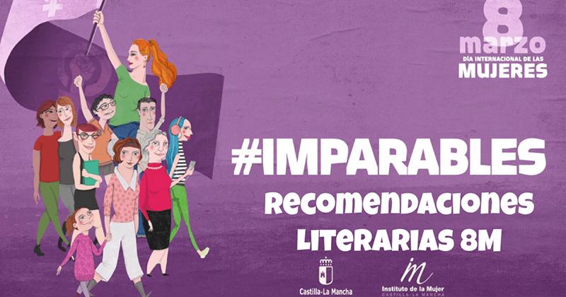 El Instituto de la Mujer lanza un boletín con recomendaciones literarias con motivo del Día Internacional de las Mujeres