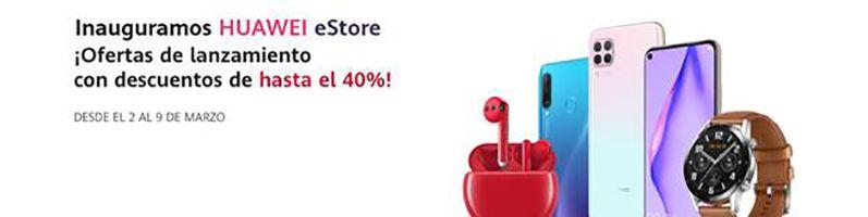 Huawei abre su tienda online con descuentos de hasta el 40%
