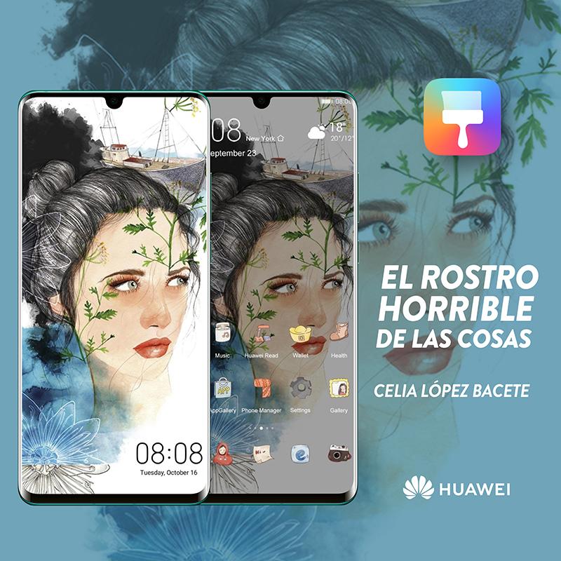 Huawei lleva la obra de 9 mujeres artistas a todo el mundo a través de sus dispositivos móviles