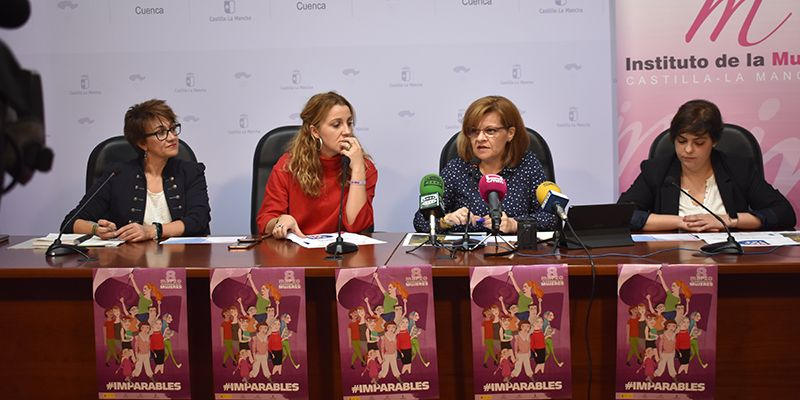 Junta, Diputación provincial, Ayuntamiento de Cuenca y Gobierno de España se unen para conmemorar el Día Internacional de las Mujeres
