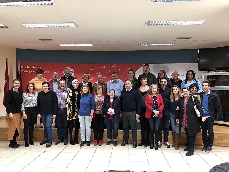 La Agrupación Local del PSOE de Cuenca reconoce a María del Carmen Mohorte con motivo del Día de la Mujer