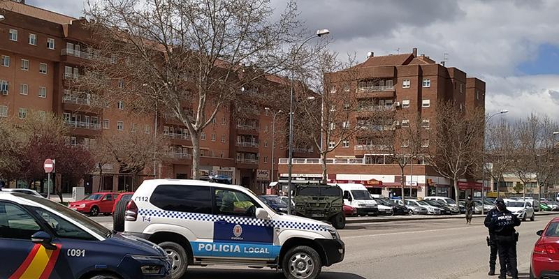 La Brigada Paracaidista de Artillería de Madrid recala de nuevo en Cuenca para ayudar en las tareas de reconocimiento y control
