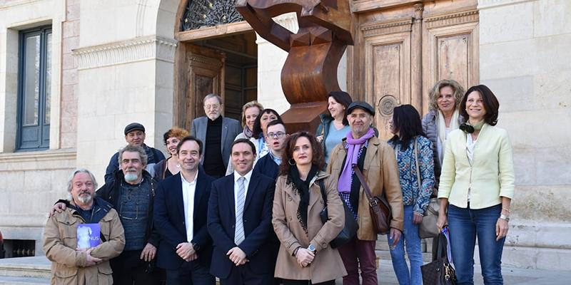 La Diputación de Cuenca presenta la exposición colectiva 'Venus' donde participan 12 mujeres y 6 hombres