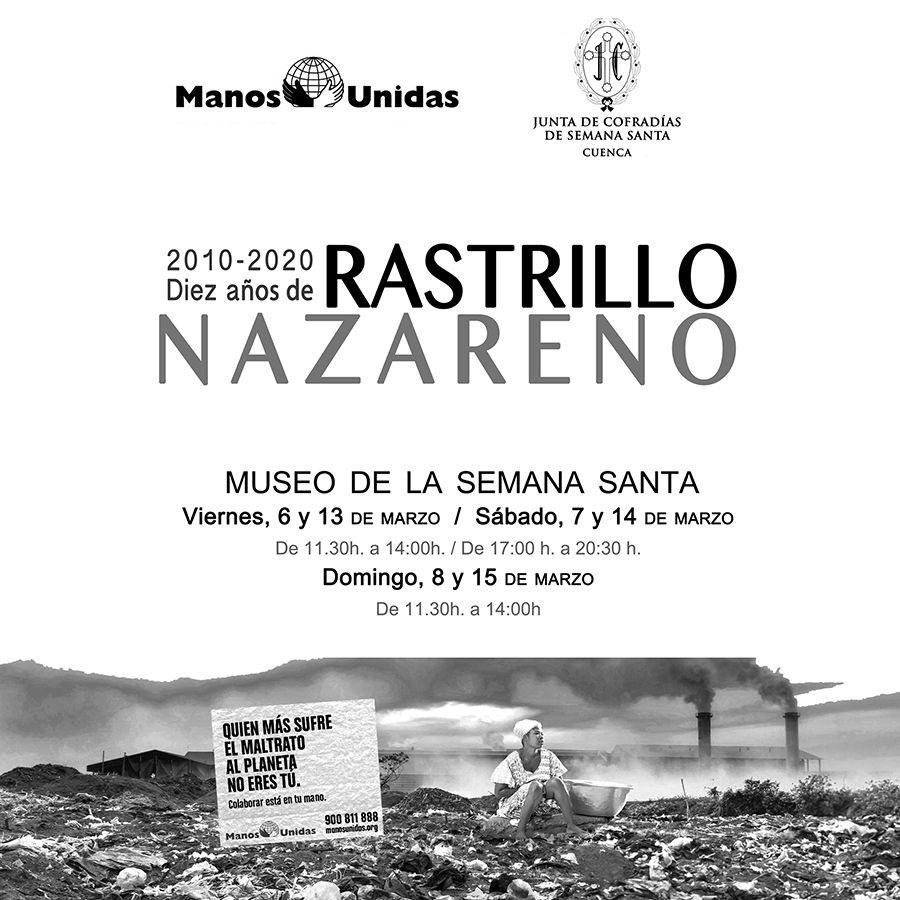 La Junta de Cofradías y Manos Unidas Cuenca organizan la décima edición del Rastrillo Nazareno