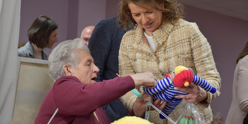 La residencia Vitalia Home 'Virgen de Rus' en San Clemente celebra su X aniversario