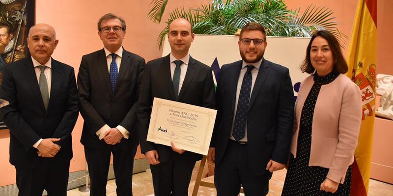 La tesis doctoral de un ingeniero de caminos de la UCLM, galardonada en el prestigioso Premio ANCI