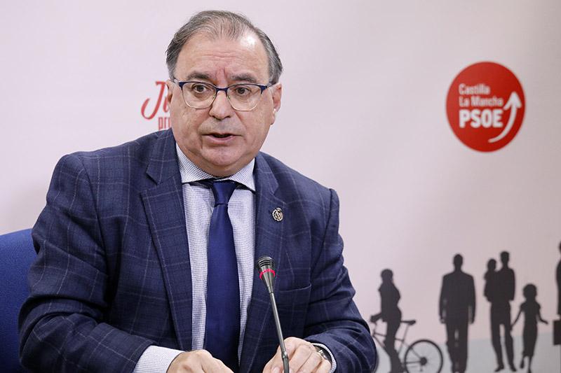 """Mora destaca el permanente contacto de los grupos políticos con el Gobierno de CLM y pide no caer en el """"oportunismo"""""""