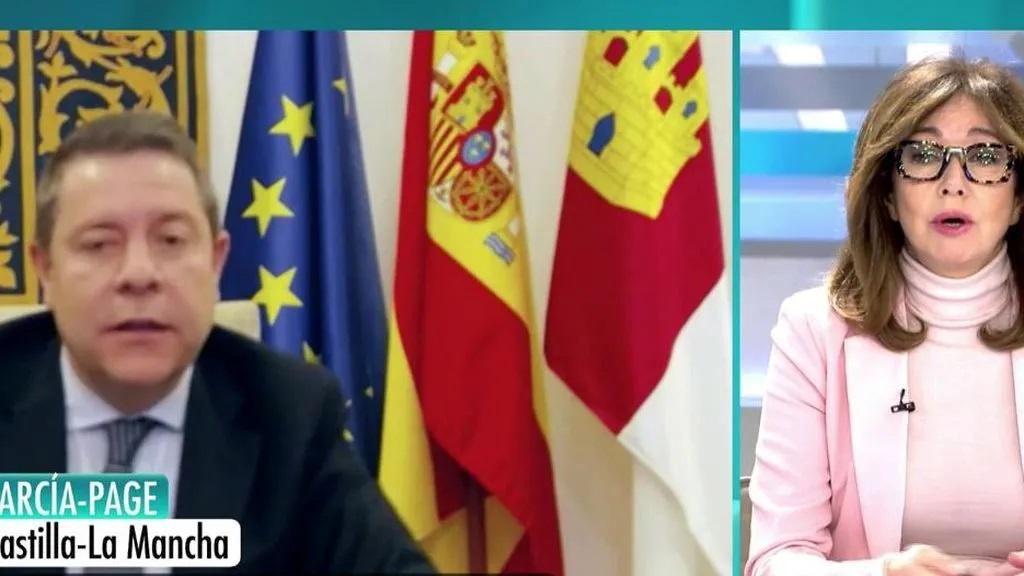 Page afirma que Castilla-La Mancha empieza a sentir los primeros efectos positivos de las medidas tomadas