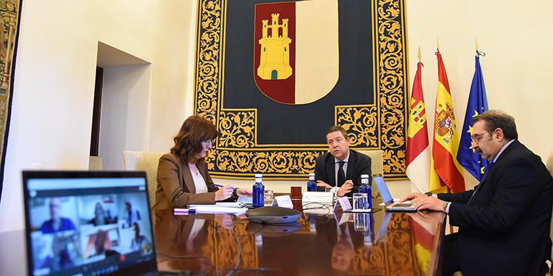 """Page avanza """"la eficacia y solvencia"""" de los primeros 6.000 tests rápidos que Castilla-La Mancha ha adquirido para el diagnóstico del Covid-19 y que empezarán a aplicarse """"con urgencia"""""""