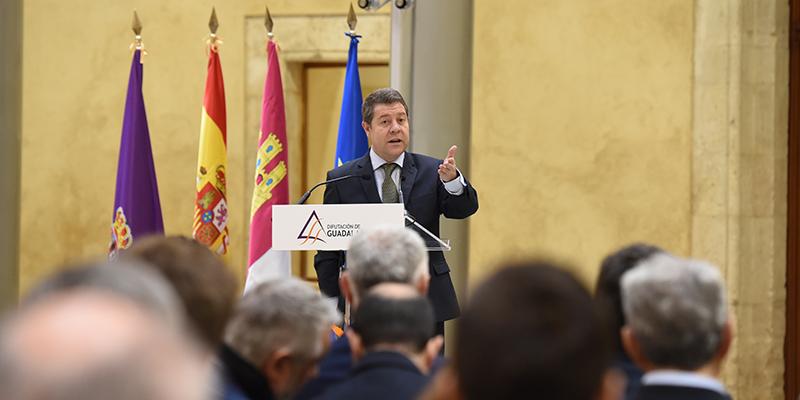 """Page reclama """"unidad y cohesión"""" en la defensa del agua y de los fondos europeos para seguir creciendo en """"igualdad de oportunidades"""""""