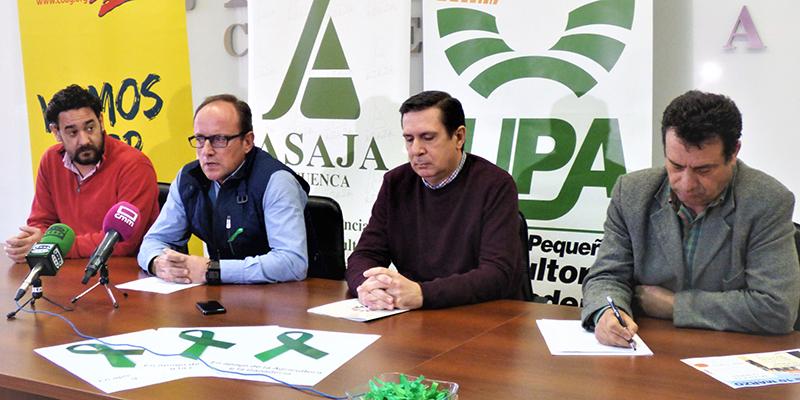 Unos 150 tractores y cientos de agricultores y ganaderos participarán en la movilización del martes día 10 en Cuenca capital
