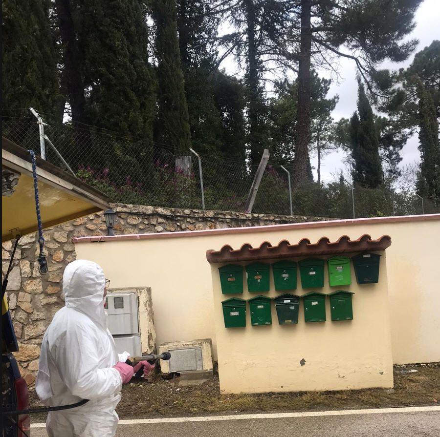 desinfeccion   Informaciones de Cuenca