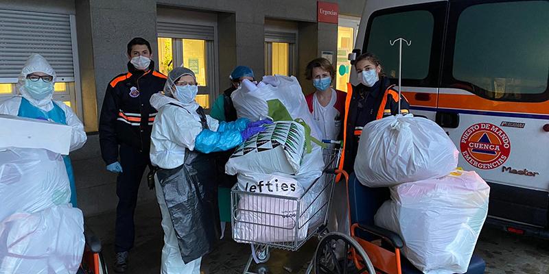 Dolz agradece a los voluntarios de Protección Civil su disposición y su trabajo durante la emergencia sanitaria