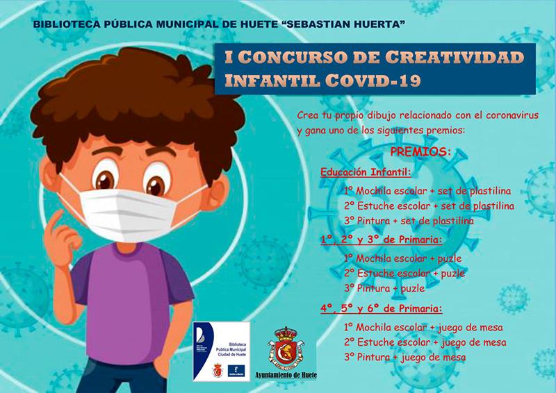 El Ayuntamiento de Huete convoca a todos los niñ@s a participar en el I Concurso de Creatividad Infantil