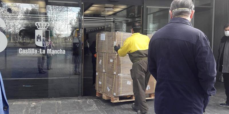 El Gobierno de España envía a Castilla-La Mancha 57.600 kits de test rápidos