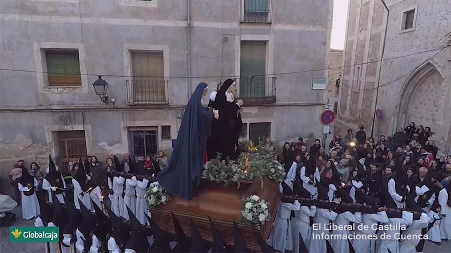 """El Liberal de Castilla e Informaciones de Cuenca retransmiten, """"en vivo"""", la Procesión del Duelo de Cuenca"""