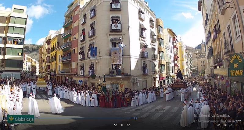 Este domingo, a partir de las 10 de la mañana, El Liberal de Castilla e Informaciones de Cuenca retransmiten la Procesión del Encuentro