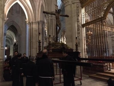 Este lunes, a partir de las 2230, el Liberal de Castilla retransmitirá en vivo la procesión de la Vera Cruz de Cuenca