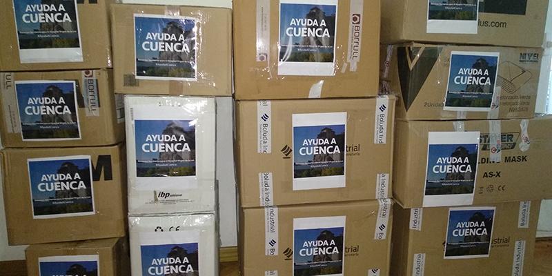 """La campaña """"Coronavirus Ayuda para el Hospital de Cuenca"""" lo ha conseguido las cifras hablan por sí solas"""
