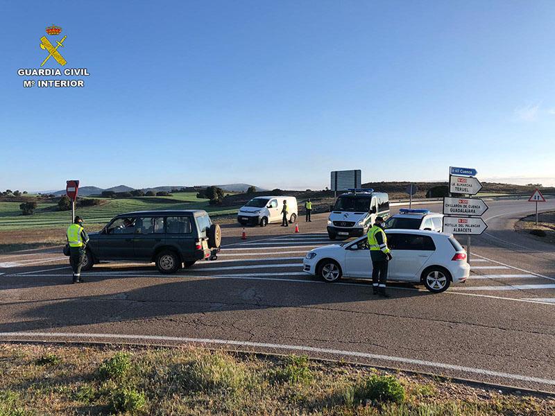 La Guardia Civil de Tráfico incrementa los controles en Cuenca con motivo de la Semana Santa