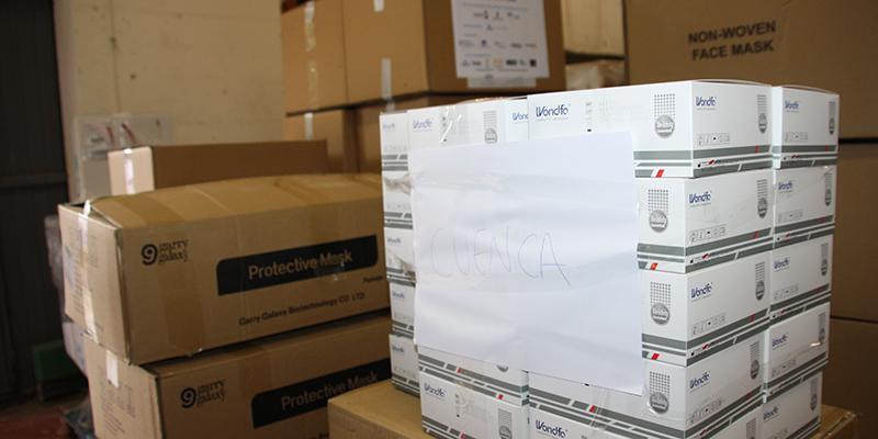 La Junta distribuye otros 500 test rápidos para el área de Salud de Cuenca y más de 11.000 artículos de protección