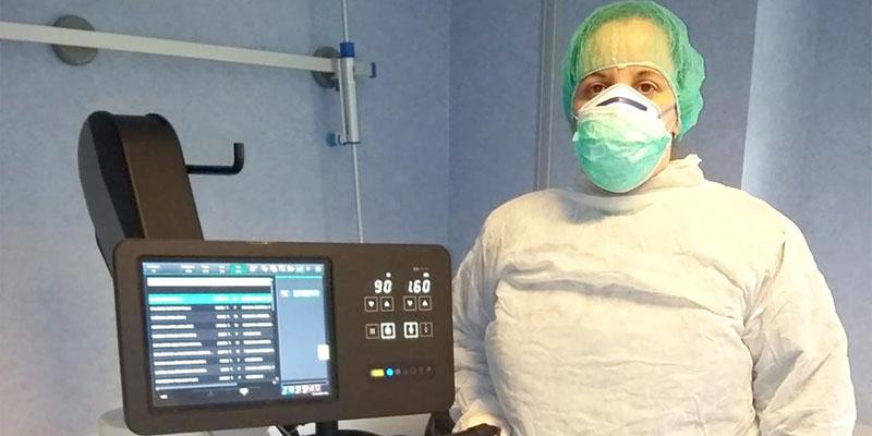 Reforzada la capacidad diagnóstica de los centros hospitalarios con la dotación de nuevos equipos de radiología portátil