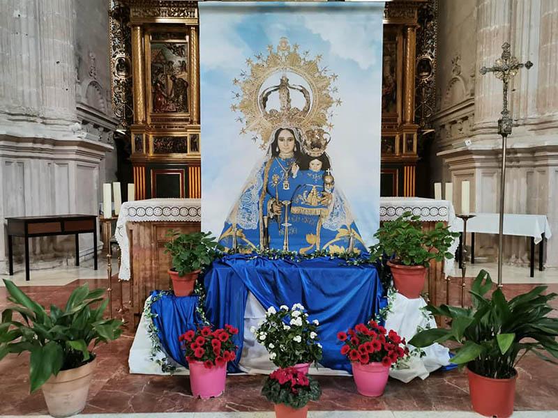 San Clemente vivió la tradicional romería de la Virgen de Rus 'desde casa'