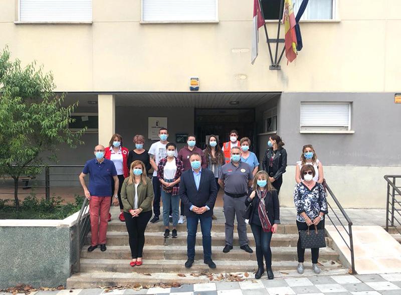 Ayuntamiento de Cuenca y Junta agradecen a los voluntarios su labor en la atención de las personas sin hogar durante el estado de alarma