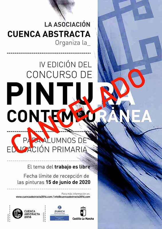 Cancelado el IV concurso de Pintura Contemporánea Cuenca Abstracta