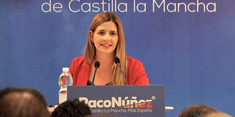 Carta de la secretaria general del PP-CLM, Carolina Agudo, a Sergio Gutiérrez