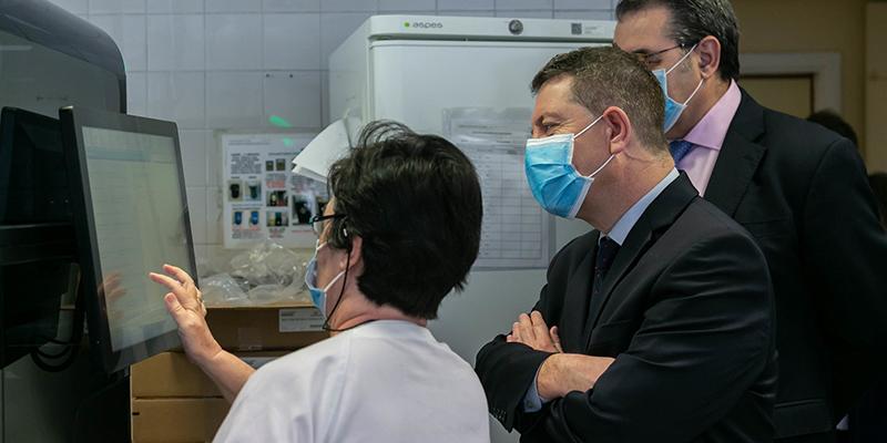Castilla-La Mancha estará en disposición de situar su capacidad diagnóstica de Covid-19 por encima de las diez mil pruebas diarias en los próximos meses