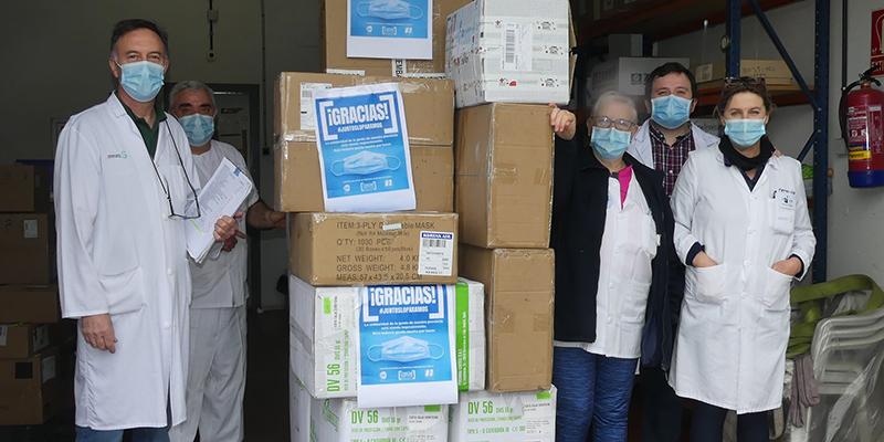 CEOE-Cepyme Cuenca cierra la campaña #Juntosloparamos tras recaudar cerca de 43.000 euros en material sanitario