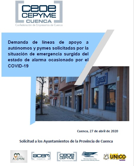 CEOE-Cepyme Cuenca y sus delegaciones trasladan demandas de pymes y autónomos a los ayuntamientos