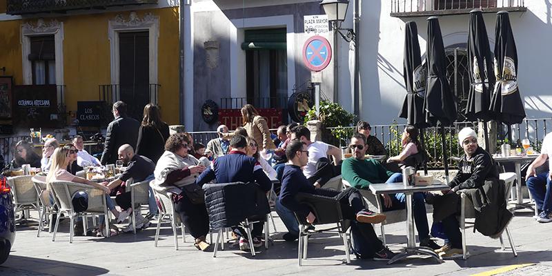 Comienza a funcionar en Cuenca el equipo técnico que asesorará a los establecimientos de hostelería sobre la instalación de terrazas