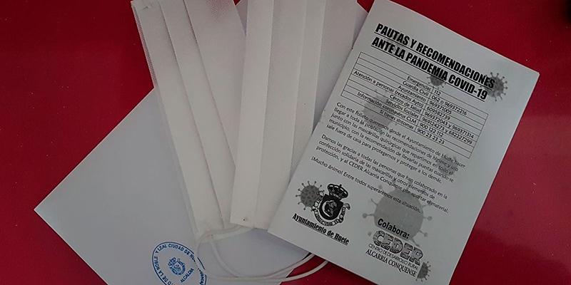 El Ayuntamiento de Huete pone a disposición de quien las necesite mascarillas y pantallas protectoras faciales