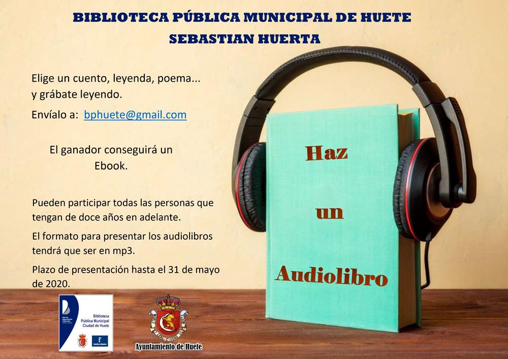 El Ayuntamiento de Huete te propone crear tu propio audiolibro