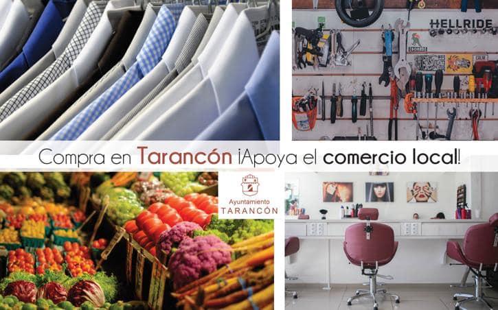 El Ayuntamiento de Tarancón anima a consumir en el comercio local para reactivar la economía del municipio