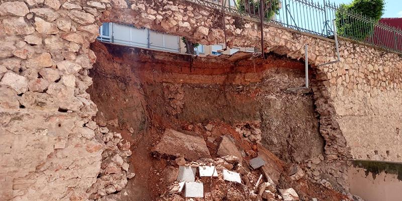 El Ayuntamiento estudia si el desprendimiento en Cuenca se debe a unas obras realizadas en 2017