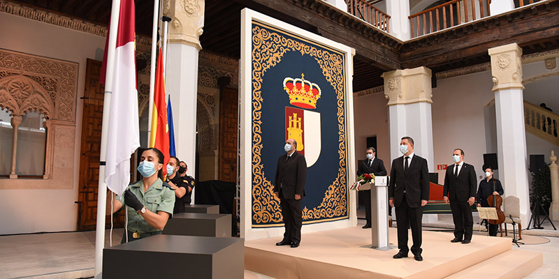 El Gobierno de Castilla-La Mancha fijará en el acto institucional del Día de la Región un reconocimiento a víctimas afectadas y servicios directamente implicados en la pandemia de la COVID19