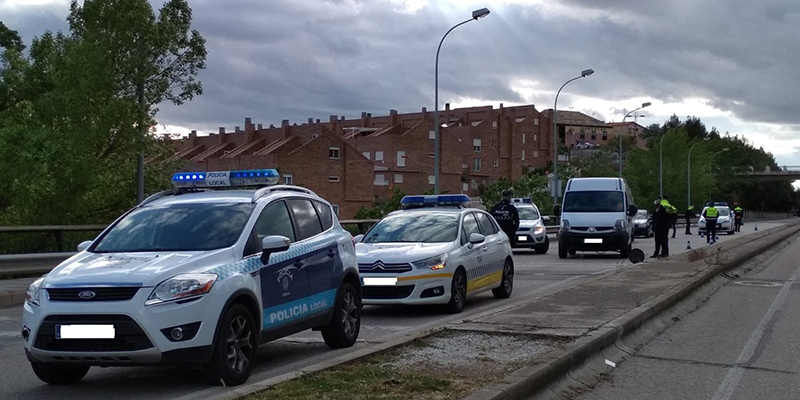El puente de mayo se salda en Cuenca con 10 denuncias y 56 identificaciones por parte de Policía Local