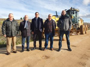 Este lunes se reinician las obras de acondicionamiento y asfaltado del camino Jábaga-Chillarón