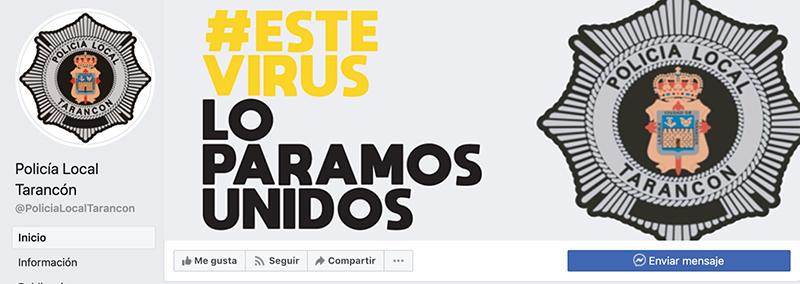 La Policía Local de Tarancón estrena perfil de Facebook para ofrecer información de utilidad a los ciudadanos