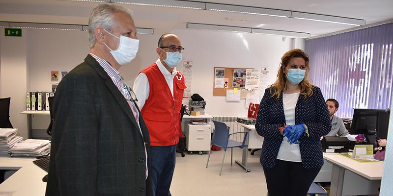 Martínez agradece el trabajo de Cruz Roja en la provincia de Cuenca que supera las 2.350 intervenciones ante el COVID-19