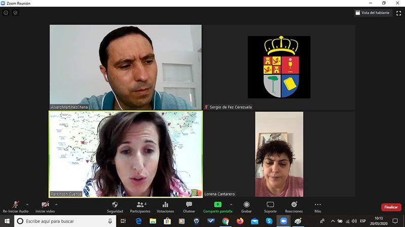 Martínez Chana felicita a Parkinson Cuenca por el gran trabajo que están realizando durante la crisis del Covid-19