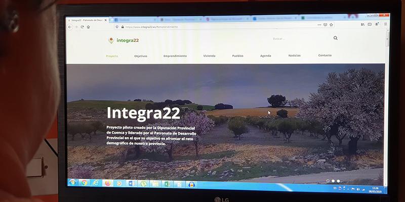Medio centenar de empresas se promocionarán online gracias al proyecto de lucha contra la despoblación Integra 22 de la Diputación de Cuenca
