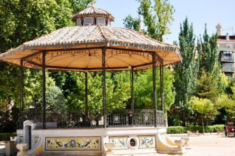 Visto bueno de la Junta de Comunidades de Castilla-La Mancha a la actuación de reparación del templete del Parque San Julian