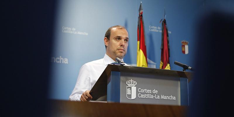 """Bellido anima a los grupos a retomar la actividad parlamentaria con """"ejemplaridad"""" y """"moderación"""""""
